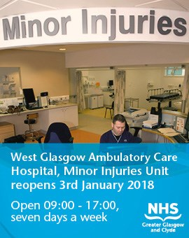 Minor Injuries Unit at  West Glasgow