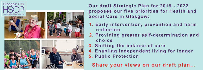 Strategic Plan Consultation image stating our five priorities