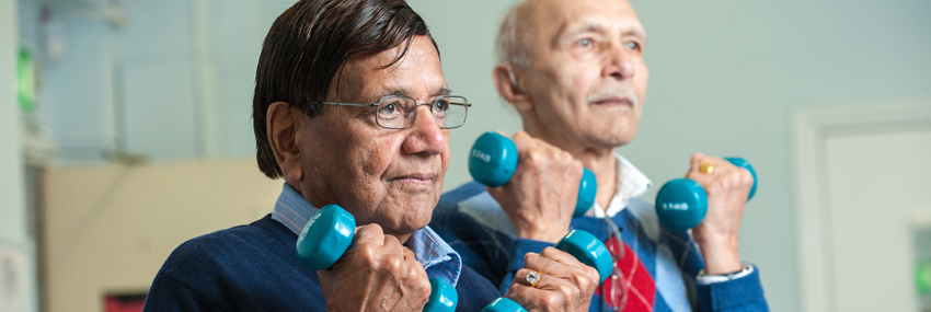 Image of Older People Exercising